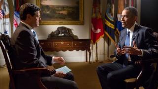 Jon Sopel interviews Barack Obama