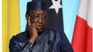 Le président Tchadien Idris Deby