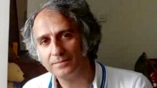 علی علینژاد اخیرا در ایران دستگیر شده است