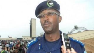 Msemaji wa polisi wa Rwanda Celestin Twahirwa