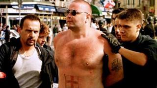James Shayler being arrested in Marseille in 1998