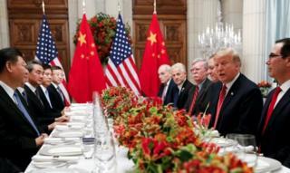 G 20 Zirvesi'nde bir araya gelen ABD ve Çin liderleri