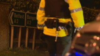 The crash happened on the A2 between Bangor and Holywood