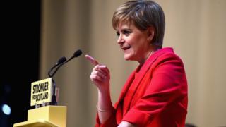 SNP lideri ve İskoçya Başbakanı Nicola Sturgeon