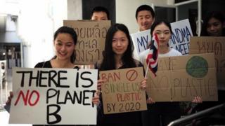 Biến đổi khí hậu, học sinh, giới trẻ, biểu tình