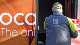 Technology Ocado delivery driver