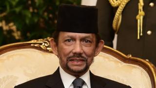 Hassanal Bolkiah, sultán de Brunéi.