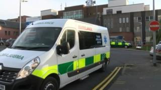 Thames Ambulance Service vehicle