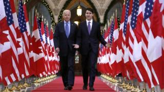 Biden and Trudeau