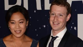 Mark Zuckerberg y su mujer Priscilla