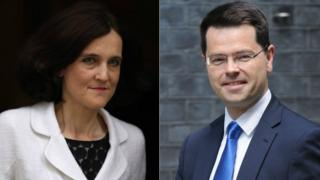 Theresa Villiers and James Brokenshire
