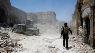 Musul'da IŞİD'e karşı mücadele