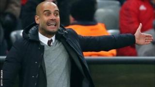 Meneja wa Manchester City Pep Guardiola