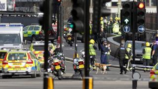 Emergency services at Westminster