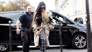 Pascal Duvier and Kim Kardashian West