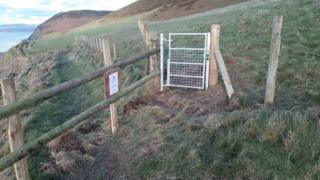 Photo of Wales Coast Path section between Wallog and Clarach in Ceredigion