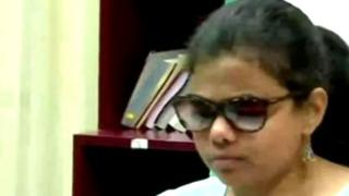 Blind IAS Officeer