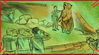 Illustration from Wojyek animation