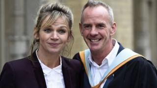 Zoe Ball and Norman Cook