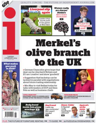 The i front page, 5/2/19