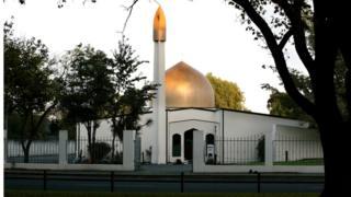 Imagem de arquivo da mesquita Al Noor em Christchurch, na Nova Zelândia