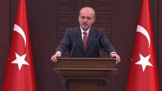 Başbakan Yardımcısı ve Hükümet Sözcüsü Numan Kurtulmuş