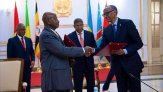 Museveni na Kagame