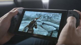 Новая консоль Nintendo Switch