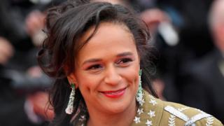 """Isabel dos Santos attends the screening of """"BlacKkKlansman"""" during the 71st annual Cannes Film Festival at Palais des Festivals on May 14, 2018 in Cannes, France."""