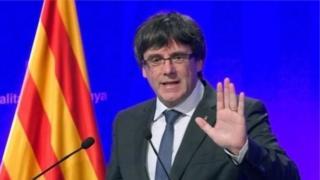 رئيس حكومة إقليم كتالونيا، كارليس بيغديمونت