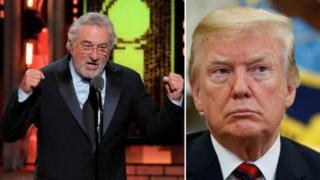 Robert De Niro ve Donald Trump