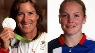 Dame Katherine Grainger and Kim Little