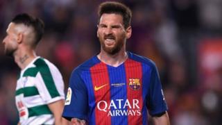 Messi analipwa Euro milioni 40 kwa mwaka