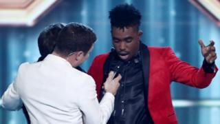 Dalton Harris on The X Factor