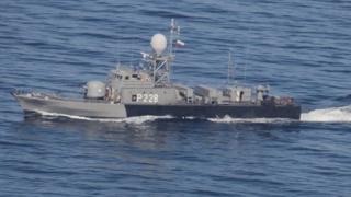 کشتی نظامی ایرانی
