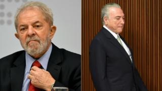 Luis Inácio Lula da Silva | Michel Temer