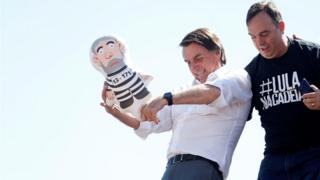 Bolsonaro durante campanha presidencial