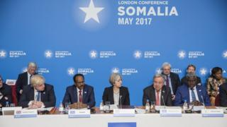 Somalia Conference at Lancaster House in central London on 11 May 2017