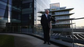 Outgoing Rio Tinto CEO Sam Walsh poses in London