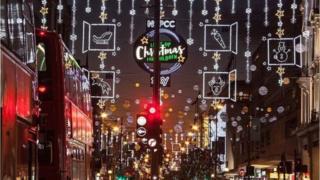 2017年聖誕彩燈——牛津街