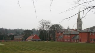 King Edward VI Grammar School in Louth