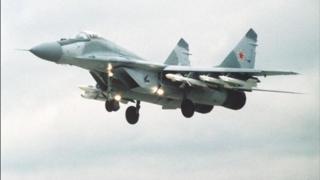 مقاتلة روسية من طراز ميغ 29