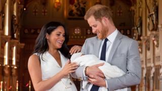 Archie, putra Pangeran Harry-Meghan Markle