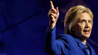 هیلاری کلینتون، نامزد دموکرات انتخابات ریاست جمهوری 2016 آمریکا