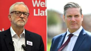 Jeremy Corbyn and Sir Keir Starmer