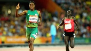 Caster Semanya remporte une nouvelle médaille d'or
