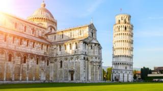 Imagen de la Torre Inclinada de Pisa.