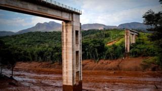 Região afetada por rompimento de barragem em Brumadinho (MG)