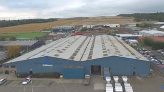 Galloway Group's Dundee premises