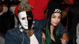 XXXTentacion attends the BET Hip Hop Awards 2017 at The Fillmore Miami Beach at the Jackie Gleason Theater on October 6, 2017